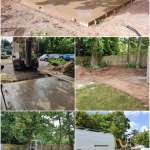 Completed groundworksCompleted works by Wyre drainage