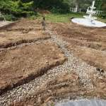 Ground water drainage system by Wyre Drainage