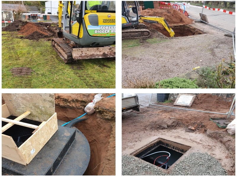 Waste Tank and Septic Tank Installation by Wyre Drainage