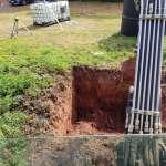 Mini Digger Excavation for Sewage Treatment Plant