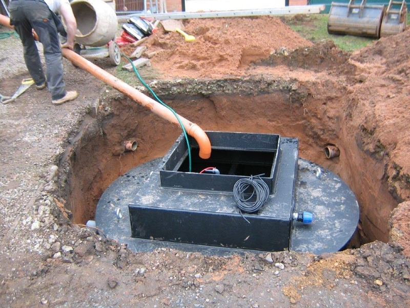 Septic Tank installation by Wyre Drainage