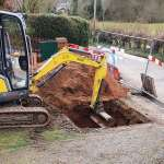 Sewage infrastructure by Wyre Drainage