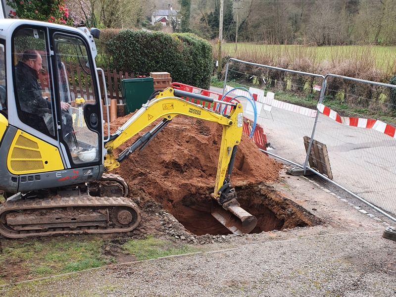 Drainage Groundworks by Wyre Drainage