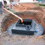 Sewage Plant installation by Wyre Drainage
